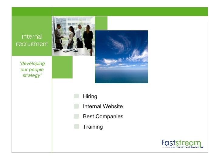 """<ul><li>Hiring </li></ul><ul><li>Internal Website </li></ul><ul><li>Best Companies </li></ul><ul><li>Training </li></ul>"""" ..."""