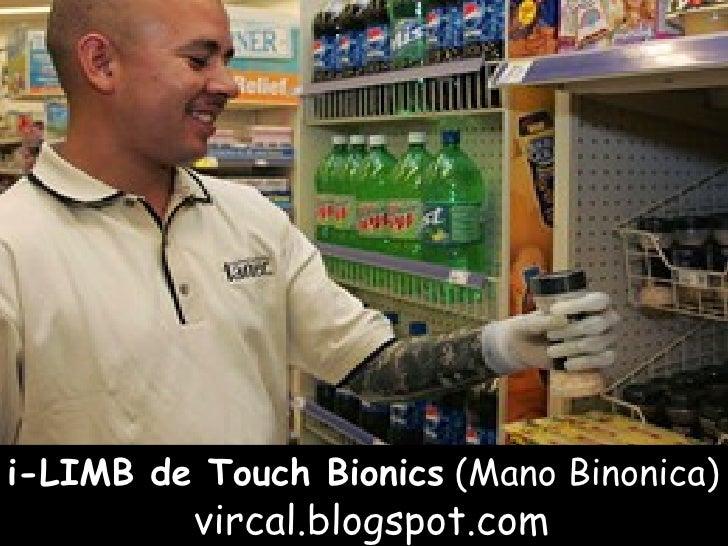 i-LIMB de Touch Bionics   (Mano Binonica) vircal.blogspot.com