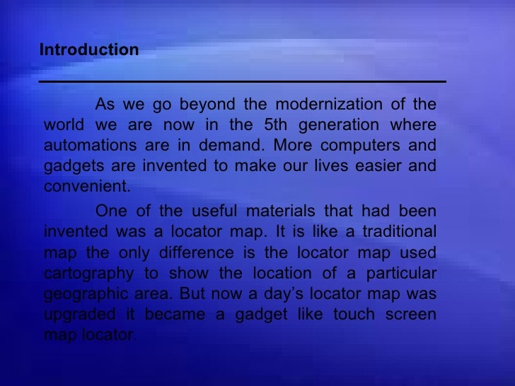 Introduction As we go beyond the modernization of the world we are now in the 5th generation where automations are in dema...
