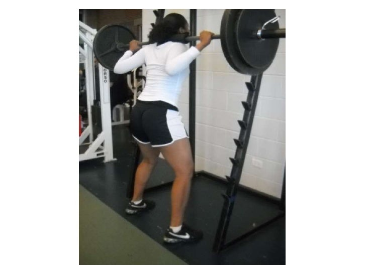 Tina 205 lbs squat