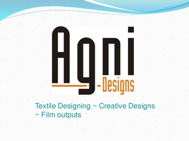 Textile Designing ~ Creative Designs ~ Film outputs