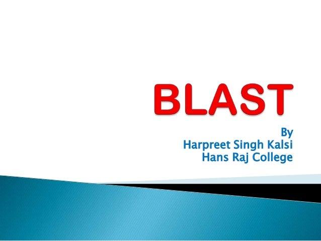 ByHarpreet Singh Kalsi   Hans Raj College