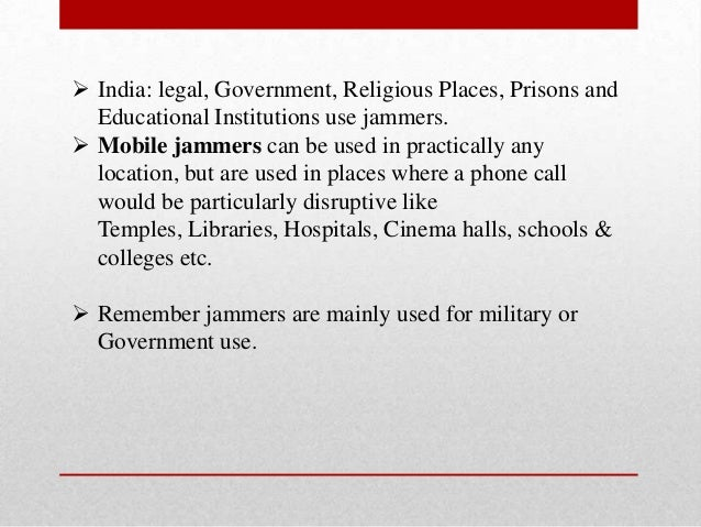 Cell phone jammer in prisons - are cell phone jammers legal in florida