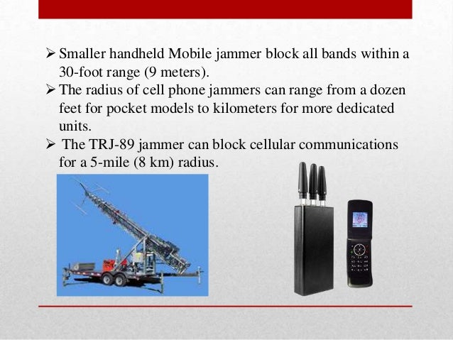 Mobile phone jammer nc - how a mobile phone jammer works