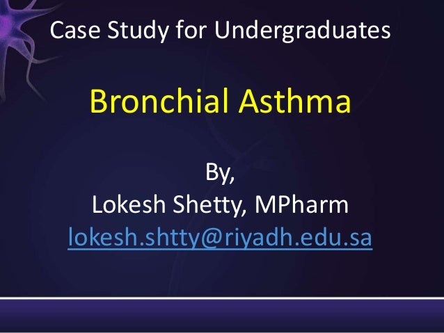 A case of uncontrolled asthma