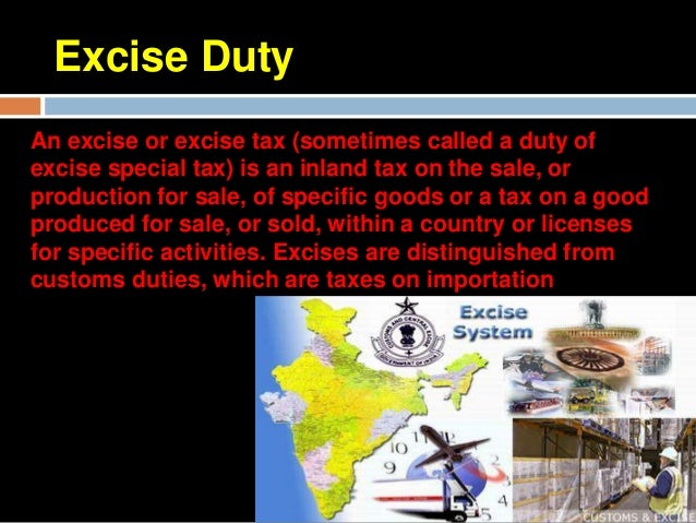 Custom Duty.    Customs duty is a kind of indirect    tax which is realized on goods of    international trade. In economi...