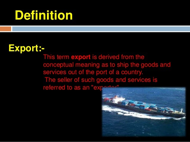 Balance Of TradeBalance of trade represents a difference in valuefor import and export for a country.A trade deficit occ...
