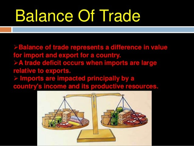 Types of ImportThere are two basic types of import:Industrial and consumer goodsIntermediate goods and services