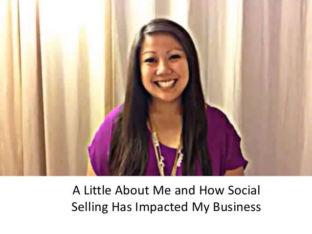A Little About Me and How SocialSelling Has Impacted My Business