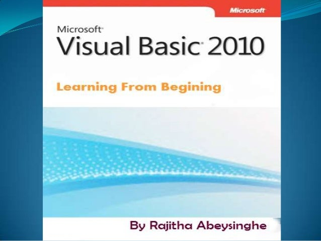 Why Choosing visual basic? Visual basic is a Microsoft certified desktop designing    program.   Easy to Design   Easy ...