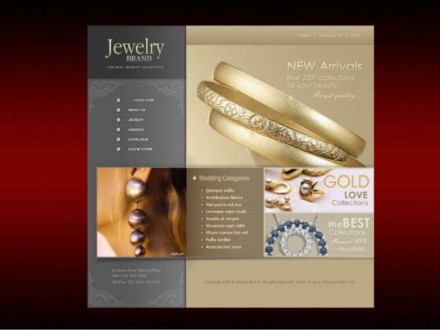 ECommerce Development for Jewellery India Jewellery Website Design