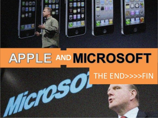 Apple and Microsoft:Leading Innovators of the 21st Techology