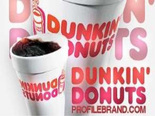Como componer una franquicia          Dunkin' Donuts• Las franquicias de Dunkin Donuts disfrutan de  un excelente reconoci...