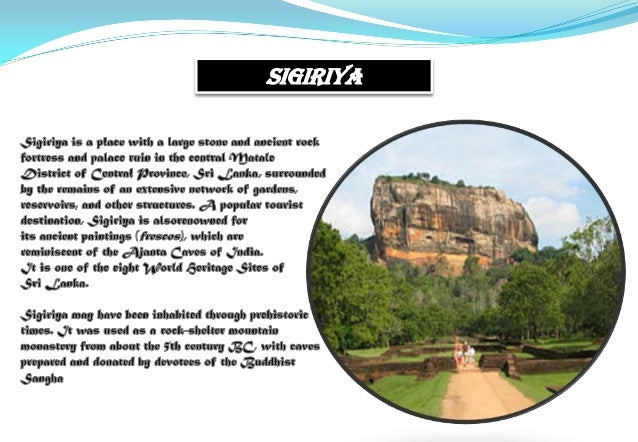 historical places in sri lanka essay 473 words essay on a visit to a historical place apoorva verma advertisements:  schools often show the students important historical places in their area.
