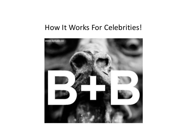 How It Works For Celebrities!
