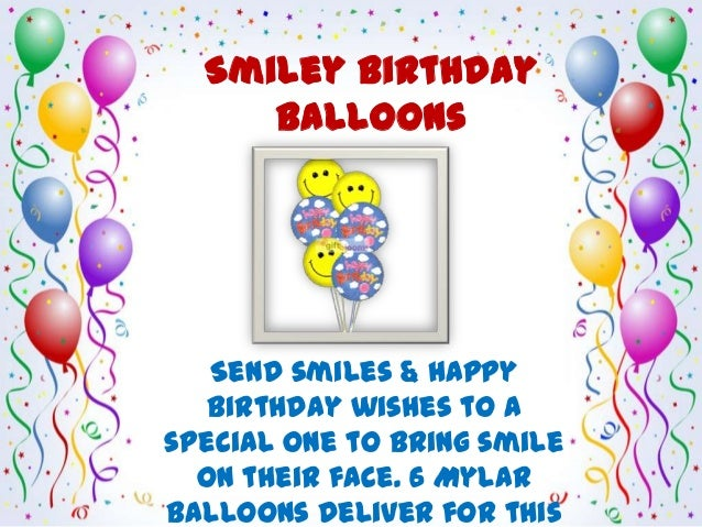 Celebrate Birthday With Balloons