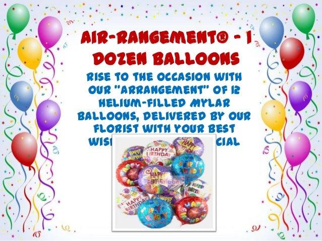 Celebrate Birthday With Birthday Balloons