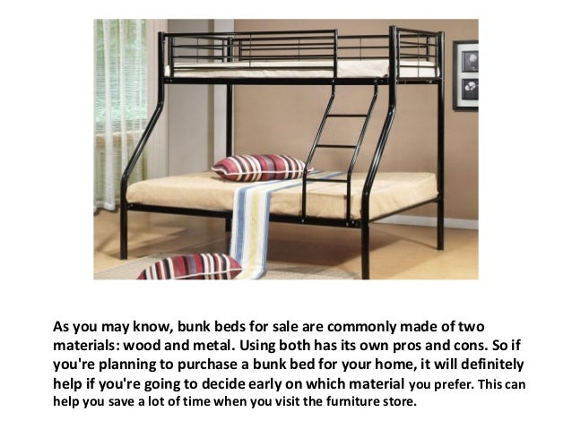 Bunk Beds for Sale Wood or metal