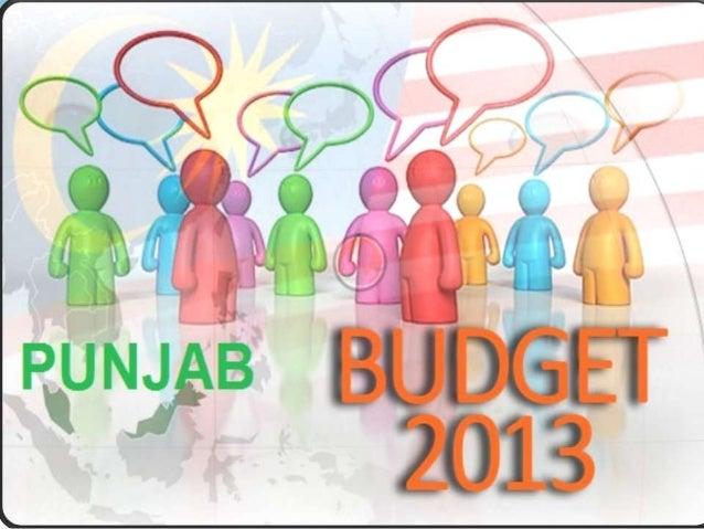 Introduction LAHORE: Punjab Finance Minister Mian MujtabaShuja ur Rehman presented Rs 871.95 billion budgetfor the next f...
