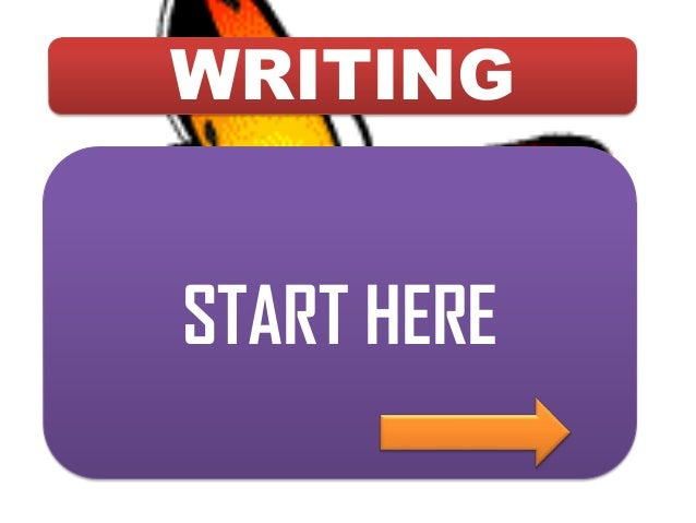 WRITING START HERE