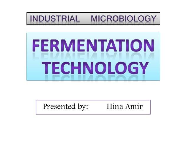 Fermentation Technology Pdf