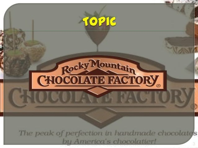 rocky mountain chocolate factory a case study analysis Ne pound of joy smooth milk chocolate with rice krispies and candy crunch, $2499.