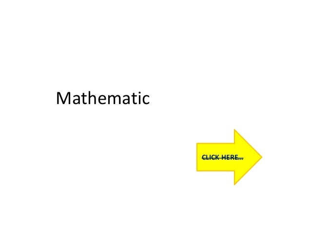 Mathematic CLICK HERE…