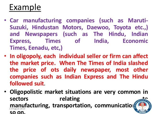 oligopoly in indian aviation Aviation essay topics  indian aviation industry aviation is the design,  oligopoly behavior in the airline industry.