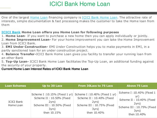 icici home loan interest certificate for income tax