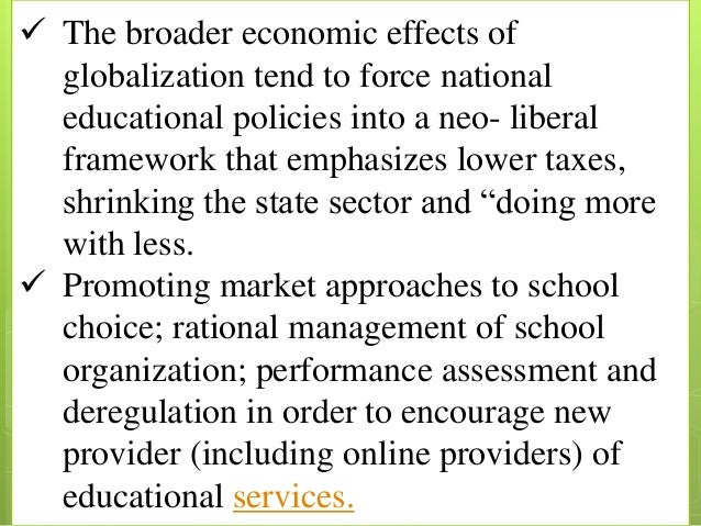 disadvantage of globalization in education Disadvantage of globalization in education globalization the numerous advances in technology haves resulted in the world becoming a much smaller place than ever before.