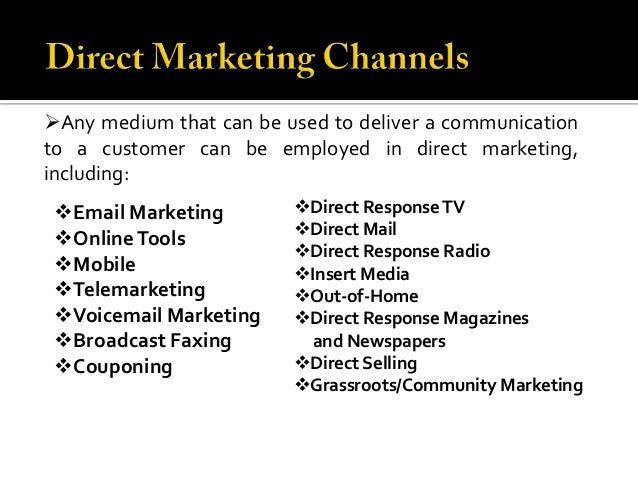 Direct Marketing Market Research Reports & Industry Analysis