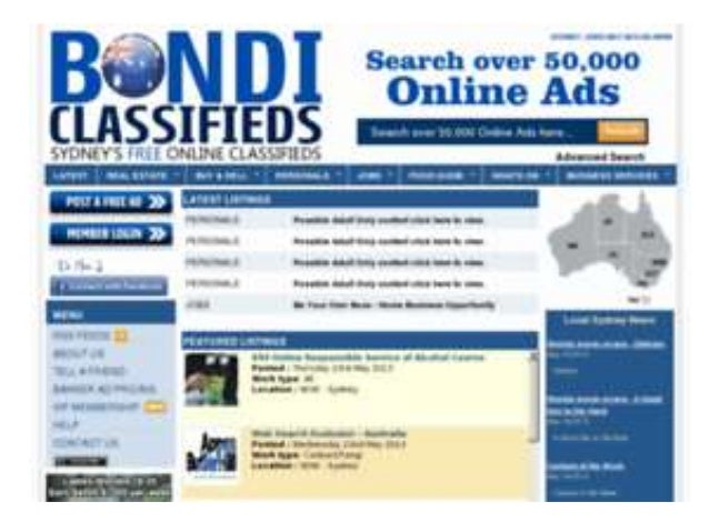 personal classifieds melbourne-Free Online Classifieds Australia