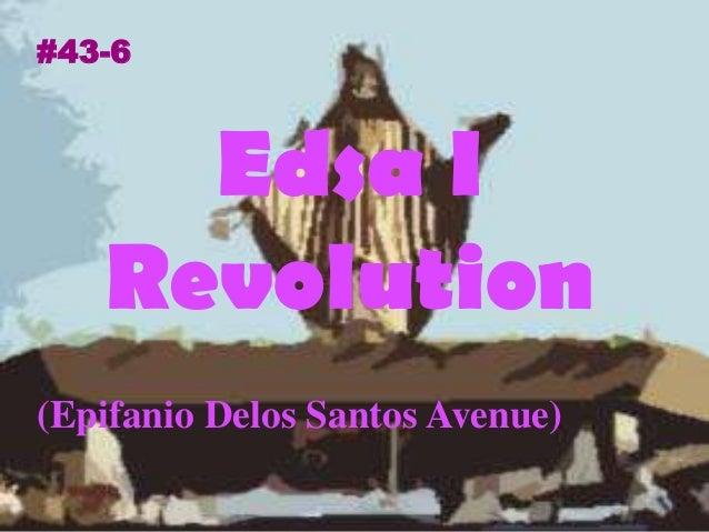 (Epifanio Delos Santos Avenue) Edsa I Revolution #43-6