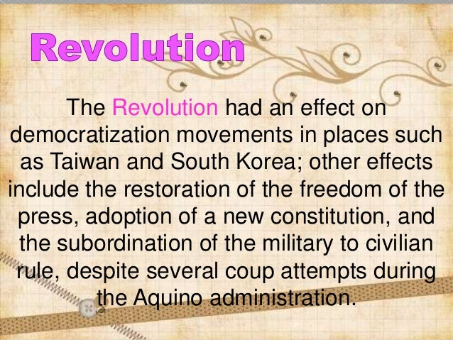 The Edsa revolution of 1986 and the Philippine economy