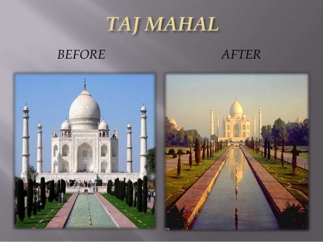 effect of acid rain on taj mahal