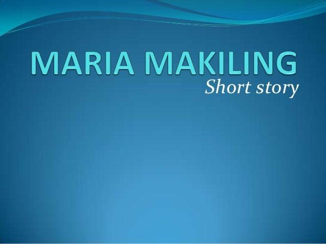 maria makiling short story