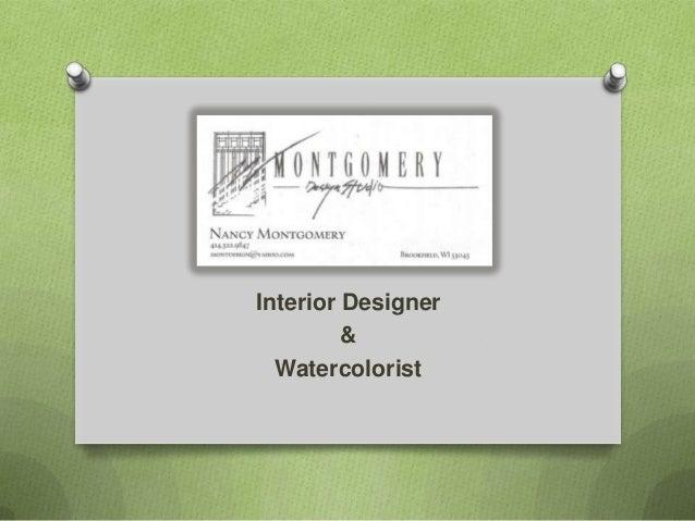 Interior Designer & Watercolorist