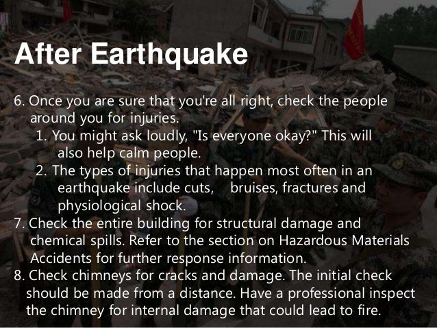 earth quake precautions you can take using Read the hartford earthquake safety tips and precautions be check whether the ground around you is more susceptible to the effects of an earthquake you should.