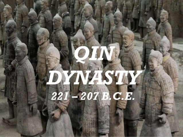 Chinas First Empire - Qin Dynasty