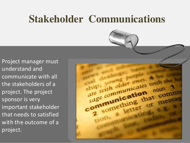 what is the importance of stakeholders to effective leadership A leader's five key stakeholders effective leaders start by asking how they can add value to the lessons from stakeholder theory for us business leaders.