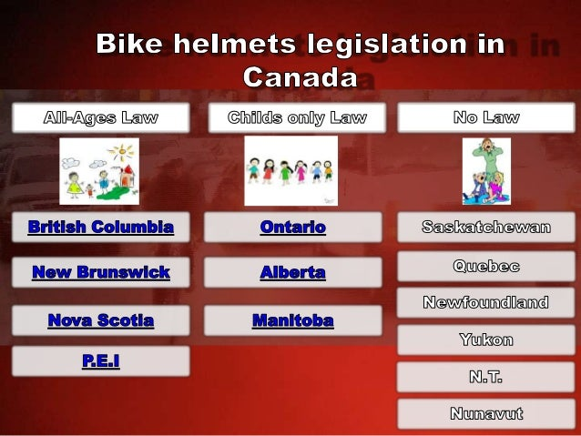 Bike Helmets Legislation in Canada