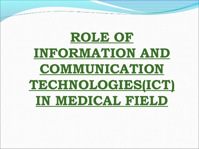 the importance of health communication in the medical field The role of effective communication in medicine adrienne l russell (why health ommunication is important in public health) overall, the health communication field is gaining more recognition and becoming more.