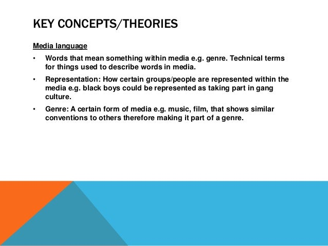 media key concepts and theorys Building our understanding: key concepts of evaluation  applying theory in the evaluation of communication campaigns  evaluations of.
