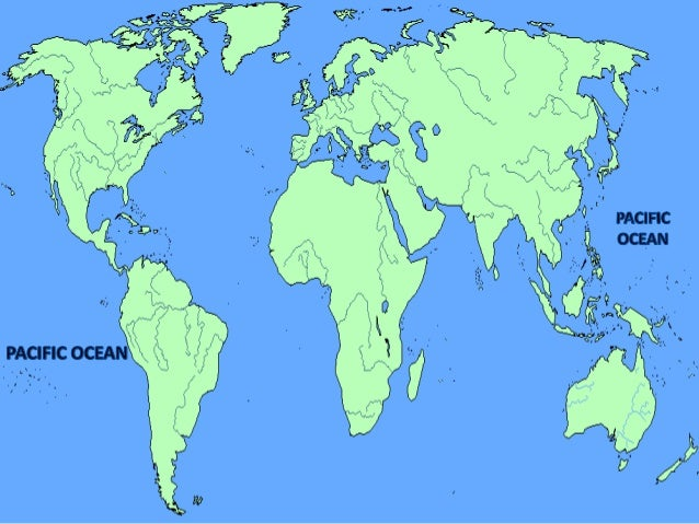 Oceans Of The World - 5 largest ocean in the world
