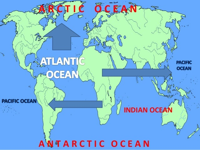 Oceans Of The World - Oceans around the world