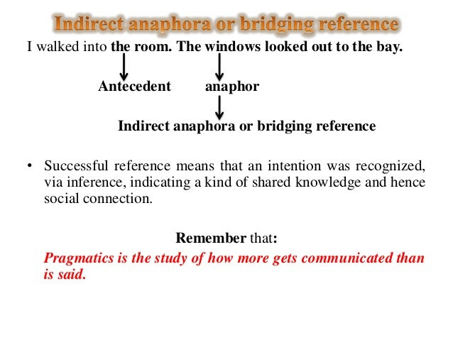 anaphoric and cataphoric reference according to Having evaluated the syntactic function of both constituents according  to be more appropriate as it unambiguously includes both anaphoric and cataphoric reference.