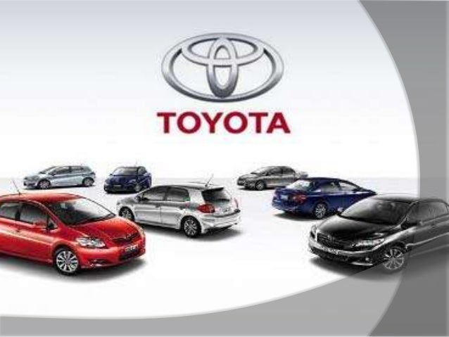 toyota swot analysis, Presentation templates