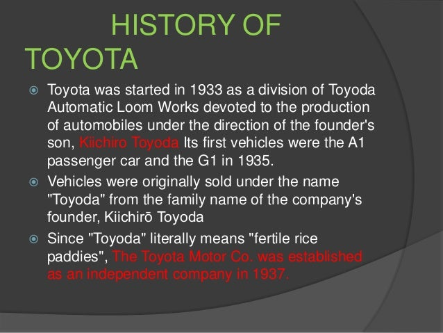the strengths and weaknesses of toyota Toyota's success rests on the company's ability to exploit opportunities and respond to threats in the automobile industry environment in this global environment, it is of interest to determine if company executives and independent analysts agree on ways to address such opportunities and threats.
