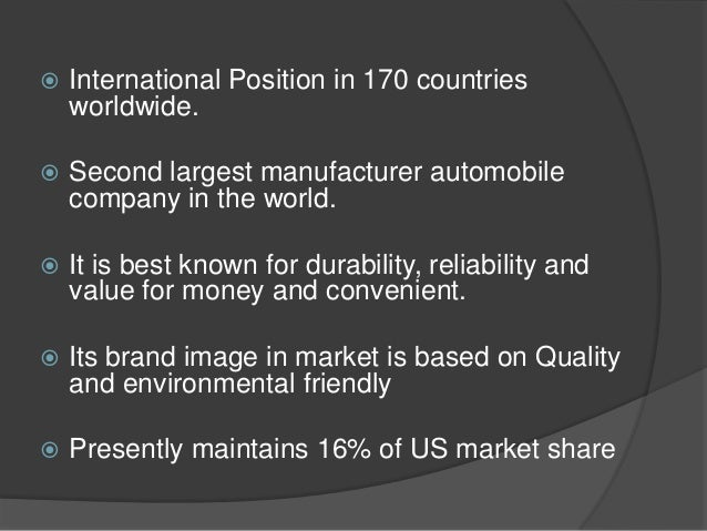 stp analysis of toyota Manufacturing innovation: lessons from the japanese auto  is that toyota's productivity rates  article/manufacturing-innovation-lessons-from-the.