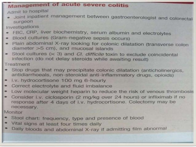 Acute Severe Colitis